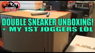 Double Sneaker Unboxing from Kith + My 1st Pair of Joggers lol.