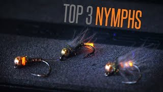 Top 3 Nymphs for Grayling and Trout (Hare's Ear, Red Tag and Pheasant Tail Nymphs)  Tie TV