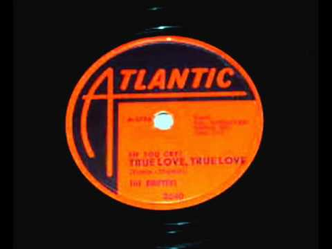 Drifters - (If You Cry)True Love True Love, 1959 Atlantic 78 Record.
