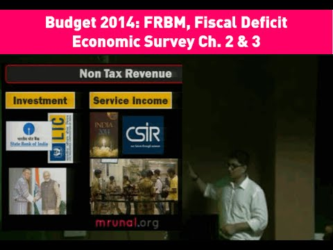 Economic Survey Ch2 & 3 with Budget 2014- Subsidies, Fiscal Deficit, FRBM