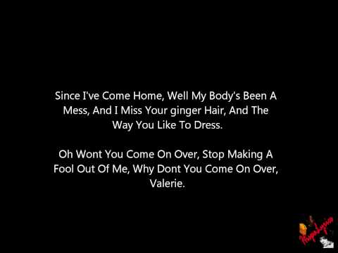 Bruno Mars - Valerie (Amy Winehouse Tribute VMA 2011) + Lyrics
