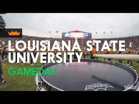 Remo + Louisiana State University: Game Day