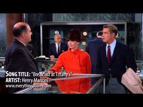 """Song """"Breakfast at Tiffanys"""" by Henry Mancini"""