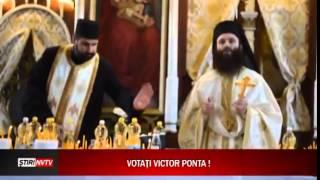 Preot ortodox  Votati Victor Ponta !