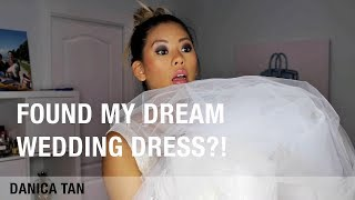 TRYING ON WEDDING DRESSES UNDER $30!!