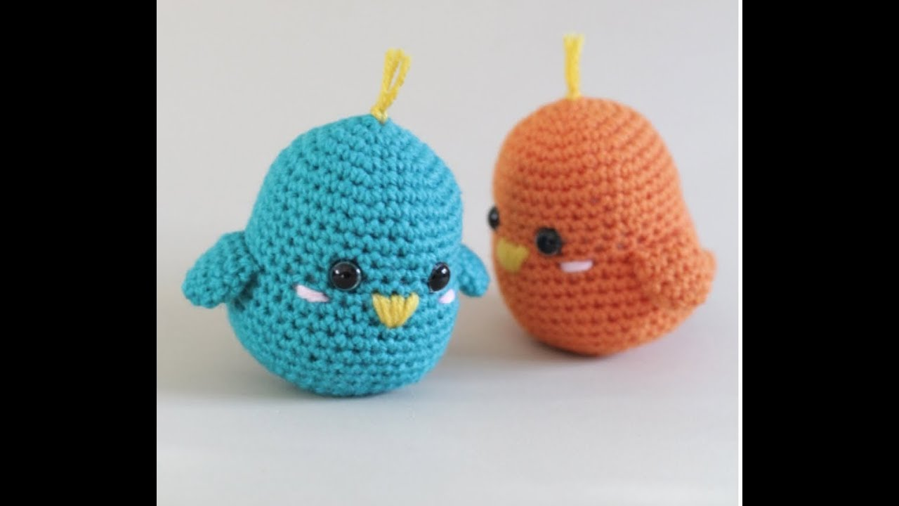 Crochet Bird Patterns Easy DIY Video | The WHOot | 720x1280