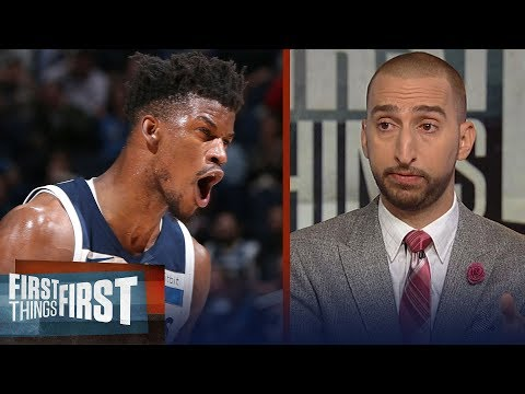 Nick Wright reacts to Jimmy Butler's trade request out of Minnesota | NBA | FIRST THINGS FIRST