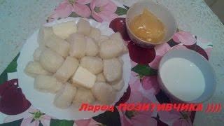 Ленивые вареники из творога (dumplings of cottage cheese)