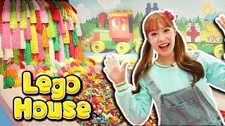 모든 게 레고!! 덴마크 레고하우스 신기한 구경 먹방놀이 LEGO House - 지니