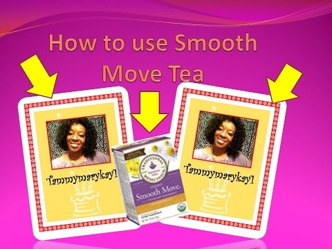 How to use Smooth Move Tea- Detox Diet Cleanse