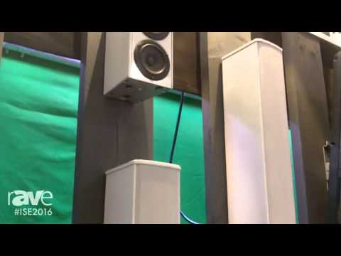 ISE 2016: Aimline Overviews ALX Series of Loudspeakers