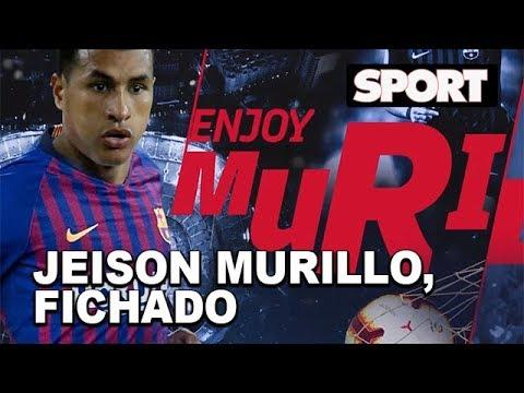 SPORTNEWS | JEISON MURILLO, NUEVO JUGADOR DEL FC BARCELONA