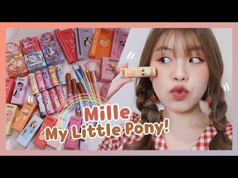 𝑹𝒆𝒗𝒊𝒆𝒘 ' เห่อคอลเลคชั่นใหม่! MILLE x My Little Pony🦄💕   Littlefahsai