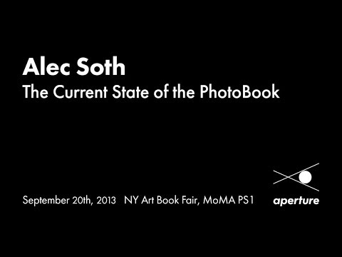 Alec Soth – The Current State of the PhotoBook