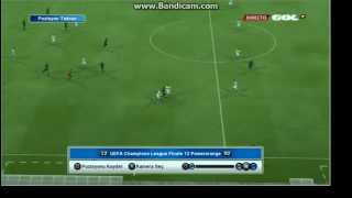 PES 2013: Goal from offside. Watch HD