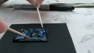 3D Crystal Lacquer UV Gem Craft Jewelry making Kit