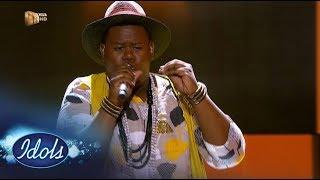 Top 6 Reveal: King B - 'Baby Please' – Idols SA | Mzansi Magic