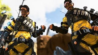 APEX LEGENDS Opening Scene and All Character Finishers (Titanfall Battle Royale Game)