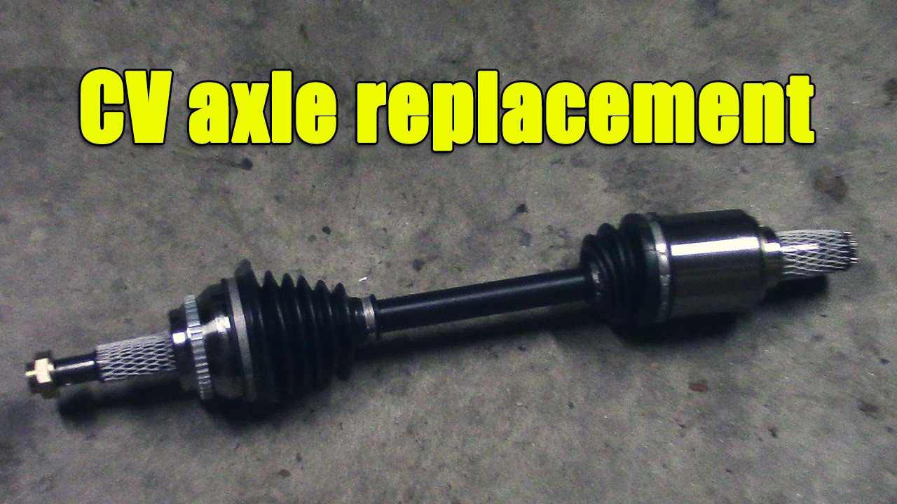 cv axle replacement in scion tc