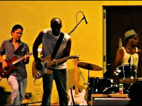 """Jay Blue's Band performing """" Angel of Mercy"""" at th..."""