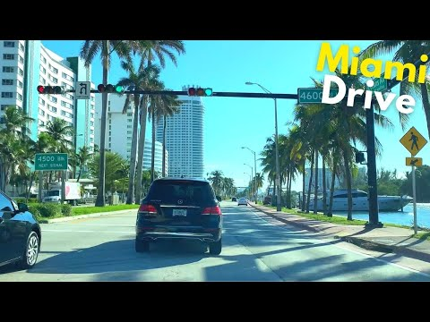4K Miami Beach Drive - Miami, FL - South Beach