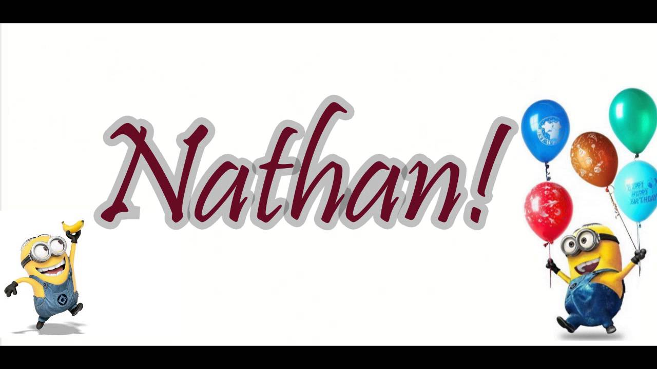 Préféré Joyeux Anniversaire Nathan Les Minions   Rabobankcentraaltwente &KK_32