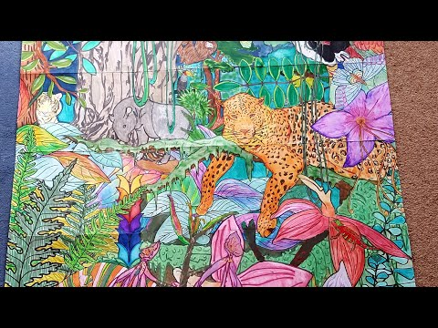 Huge Art Therapy Jungle Poster!