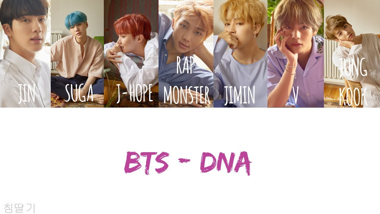 【韓中字/認聲版】BTS(防彈少年團/방탄소년단) - DNA [Korean/Chinese lyrics]