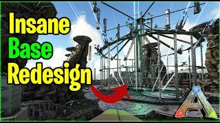 THE MOST INSANE BASE Redesign Tour - Official PvP  - Ark Survival Evolved Gameplay