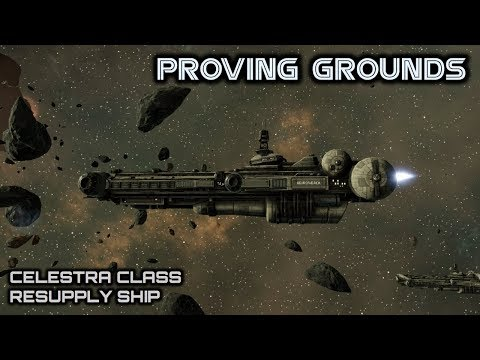 Battlestar Galactica: Celestra Class Resupply Ship - Deadlock Proving Grounds - Spacedock