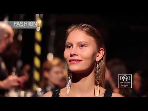 VERBENA Atelier Backstage 080 Barcelona Fashion Fall Winter 2018 19 - Fashion Channel