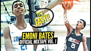 Emoni Bates OFFICIAL MIxtape Vol. 1!! The NEXT Great Basketball SUPERSTAR!?