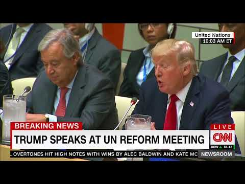 Trump Calls for United Nations Reform at New York Headquarters