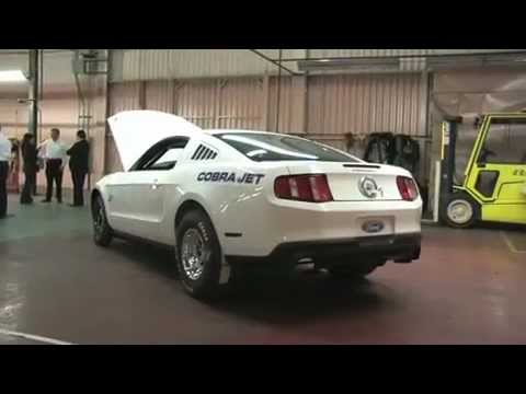 fastest car in the world  2012 Mustang Cobra Jet 0-60 less than a sec