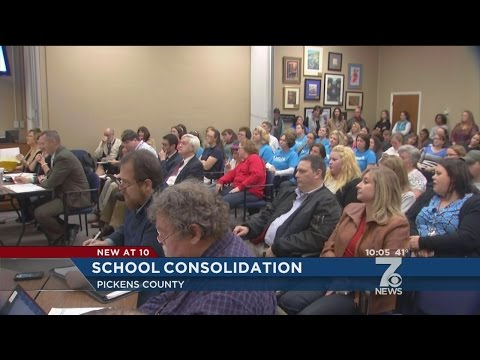 Plan to Merge Several Pickens Elementary Schools Under Debate