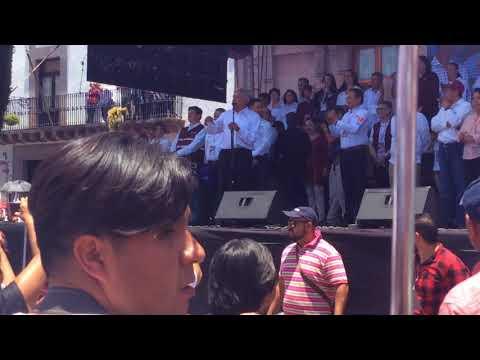 Cierre de campaña de AMLO en Querétaro: 24 de junio de 2018