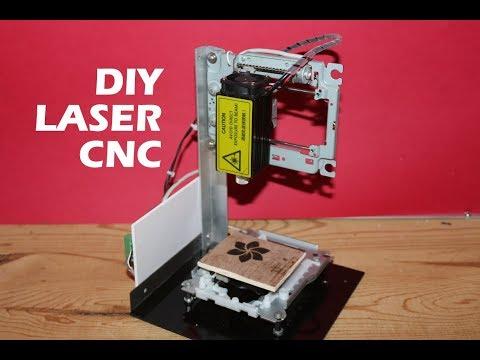 DIY Arduino based LASER Engraving CNC machine
