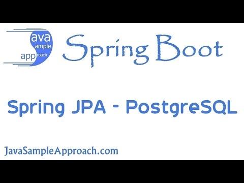 How to use Spring JPA with PostgreSQL | Spring Boot » grokonez