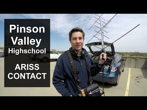 Pinson Valley High School ARISS contact