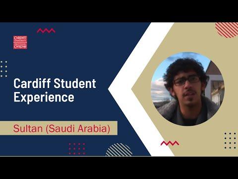 Cardiff Student Experience: Sultan (Saudi Arabia)