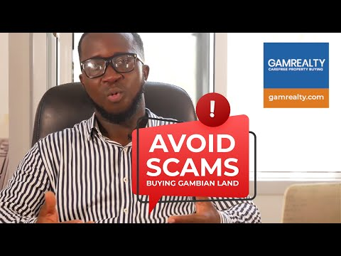 Avoid land scams! Buy land in The Gambia hassle-free with GamRealty and avoid disappointments.