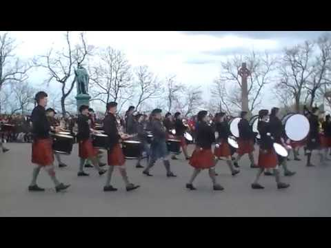 Cadet Force Pipes and Drums - Beat to Retreat - Edinburgh Castle - 29th April 17