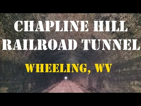 Chapline Hill Railroad Tunnel - Wheeling WV