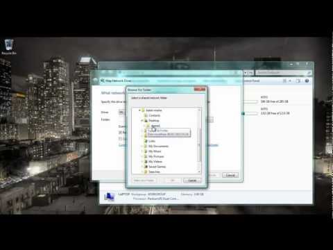 How To Map Network Drive In Windows 7