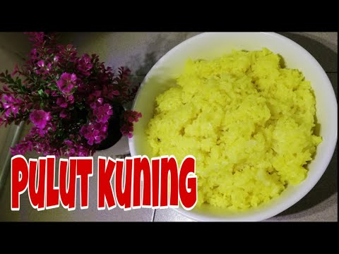 cara-masak-pulut-kuning