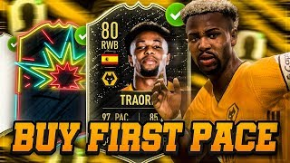 FIFA 20: Adama Traoré BUY FIRST PACE 🌪️🏃⚡