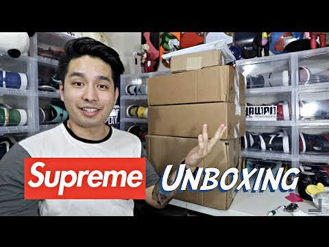MASSIVE Supreme Haul Unboxing!