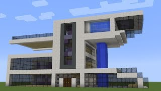 Minecraft - How to build a modern tower