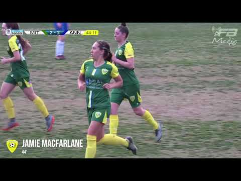 Mt Franklin Women's Premier Lge Semi-Final Prelim Mitchelton v Annerley
