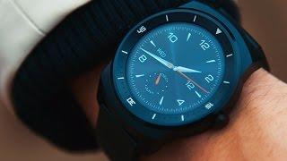 Полный обзор LG G Watch R